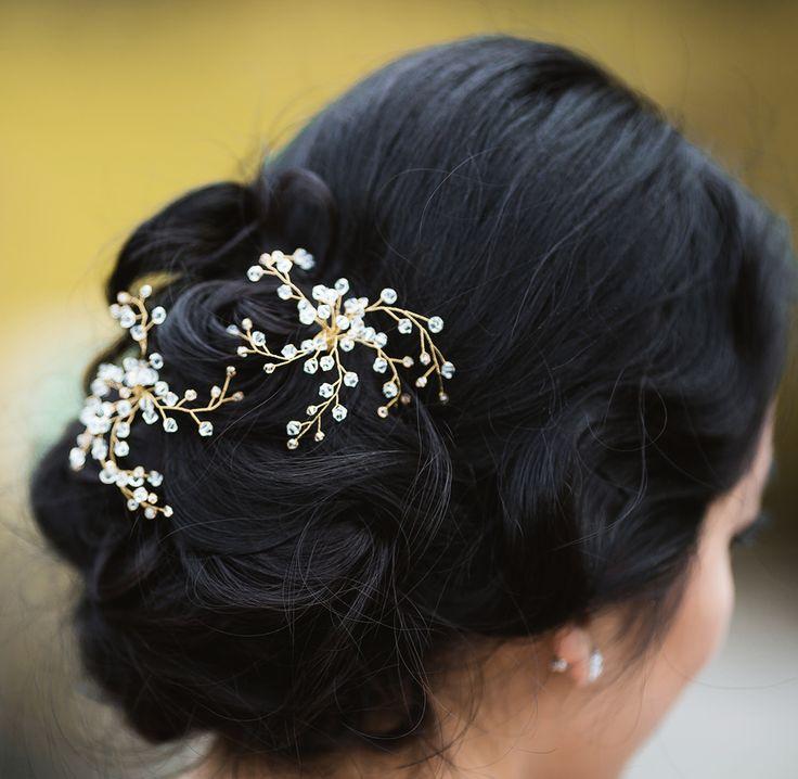 Виды причесок, Собранные в пучок, Стразы, Элементы декора для волос и макияжа, Украшения для волос