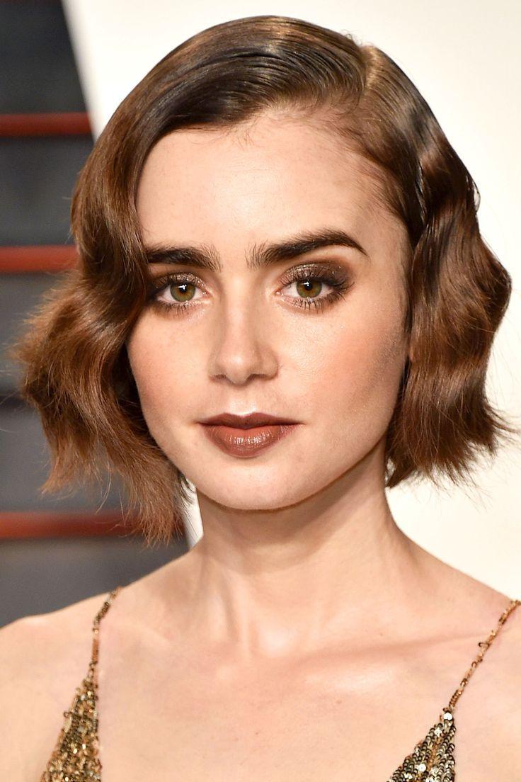 Luxus-Kurzhaarfrisur für lockiges Haar