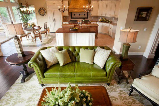 Beautiful Interior Design In This Kitchen, Dining And Living Room Area By  Jenny Lynn Wynne