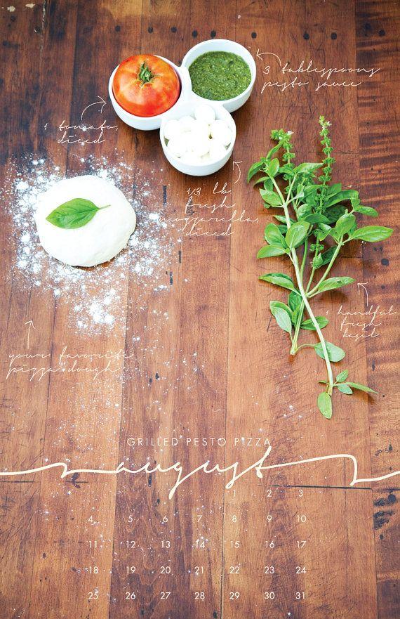 2013 Recipe Wall Calendar - Local/Seasonal Ingredients