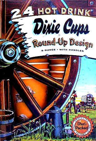 Movie Star Picture Dixie Cup Lids 101