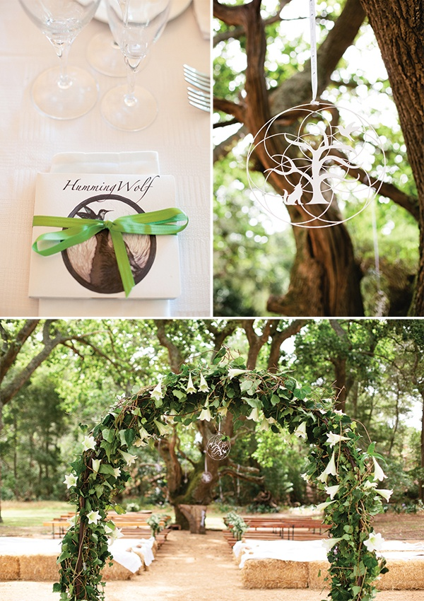 winter wonderland wedding south africa%0A South African Wedding by We love Pictures  via Magnolia Rouge