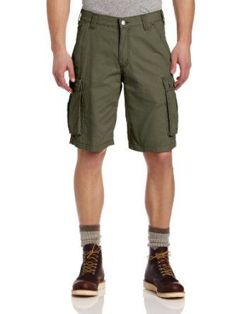 Carhartt Men's Rugged Cargo Short, Army Green, 42 Carhartt. $18.00