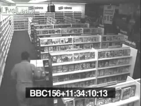 REAL GHOST IN SHOP WATCH THIS!