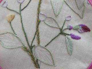 Flores no Jardim - Lee Albrecht: Paint Embroidery