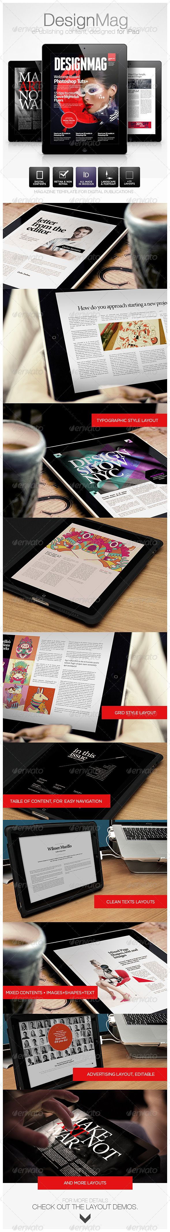 DesignMag iPad Magazine - Digital Magazines ePublishing
