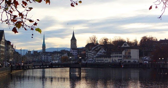 ce qui me manquera de Zurich