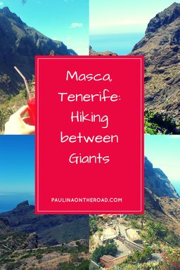Tenerife (Canary Islands, Spain) most famous hike: Masca! Through Canyons to the beach...