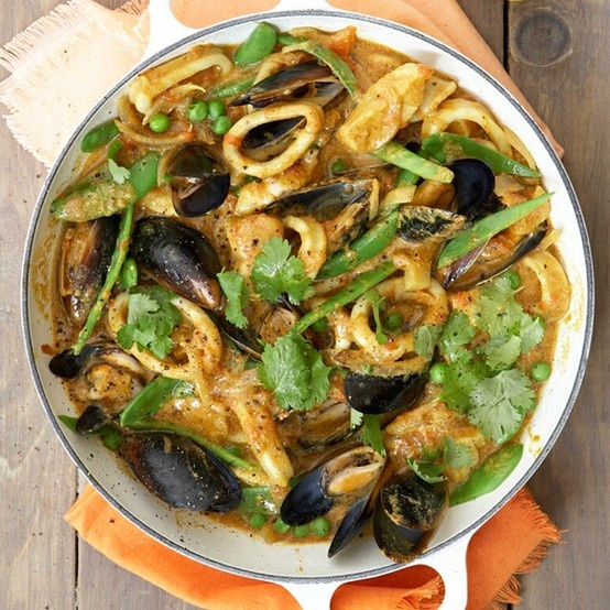 Go sustainable with Mauritian-style #seafood curry...