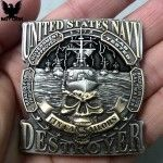 United States Navy Destroyer Tin Can Sailors Coin