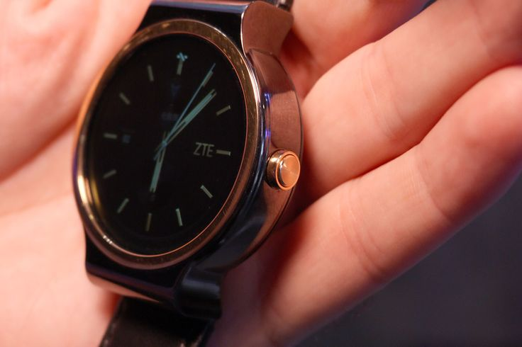 ZTE Smartwatch Will Run Android Wear, LTE, Arrive Later This Year
