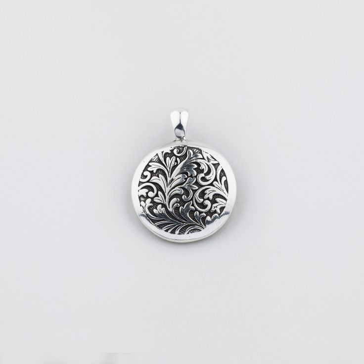 Miglio Designer Jewellery - All About Arabesque Disc Pendant