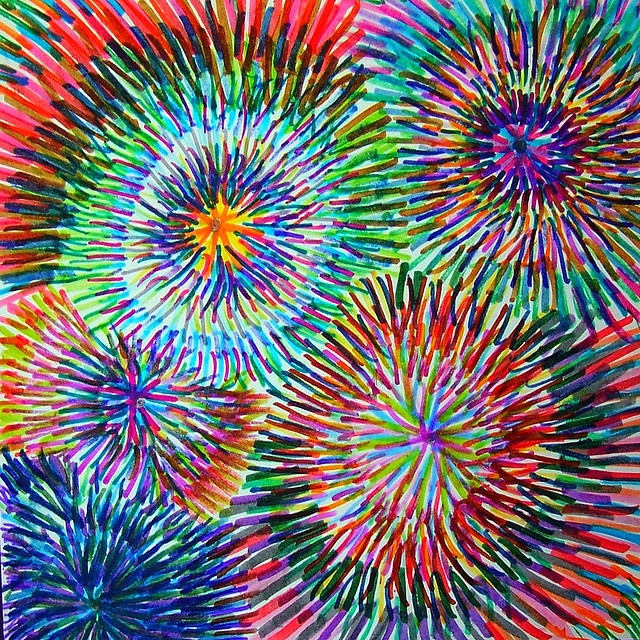 Best 20+ Fireworks Art ideas on Pinterest | Fireworks craft ...