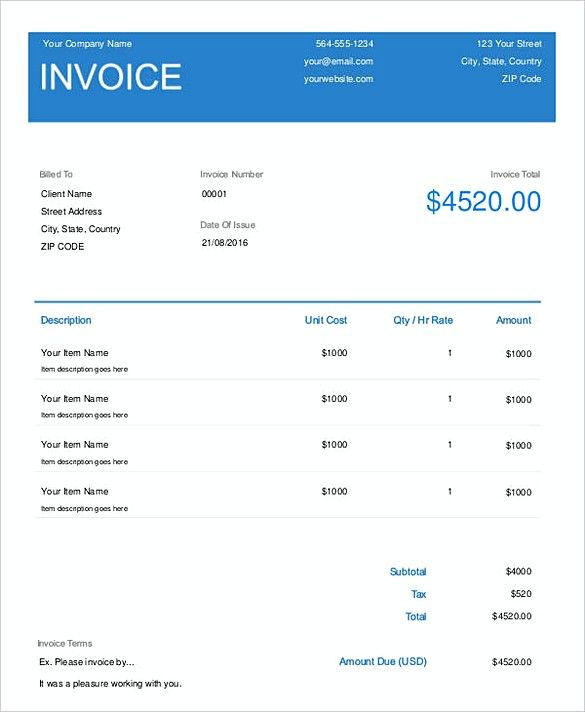 25 best ideas about invoice sample on pinterest invoice With how to complete an invoice
