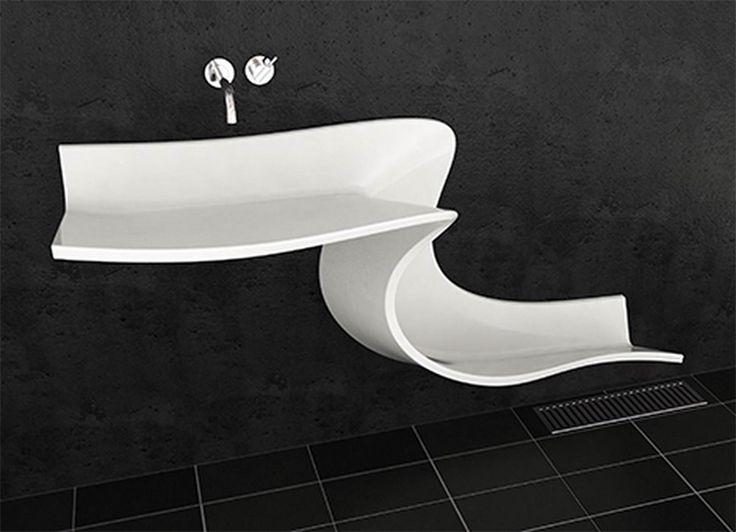 Bathroom Basin Slide