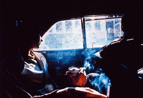 Smokey Car, Nan Goldin, 1979. (One of my favorite Nan Goldin photographs)