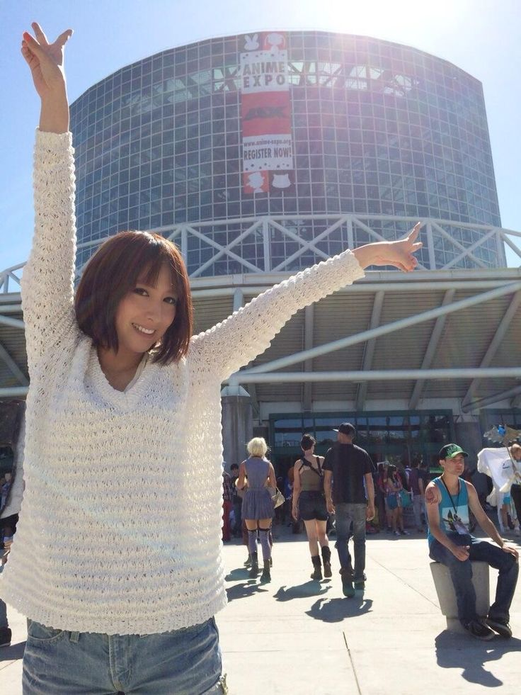 "Eir Aoi @ Anime Expo 2014: ""Thank you so so so much Anime Expo! I hope I can come back soon!"" #AnimeExpo #AX"