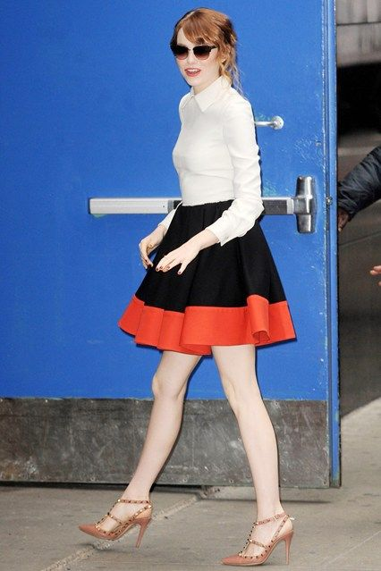 Best dressed - Emma Stone in a Valentino dress