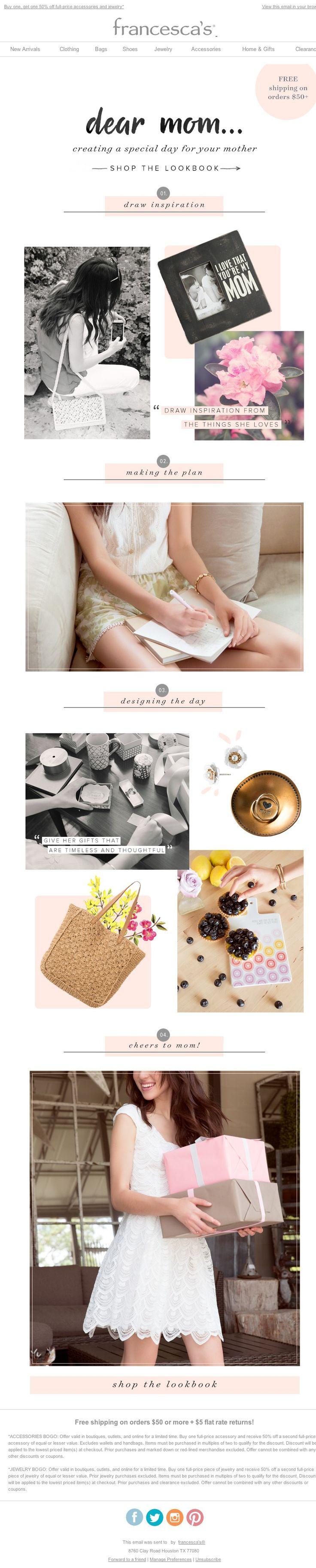 Francesca's - Shop Our Mother's Day Lookbook