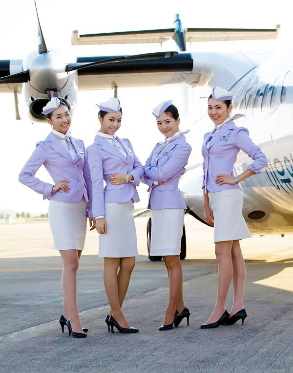 The Airline: Tway Airlines (Formerly Hansung Airlines) ~ World stewardess Crews