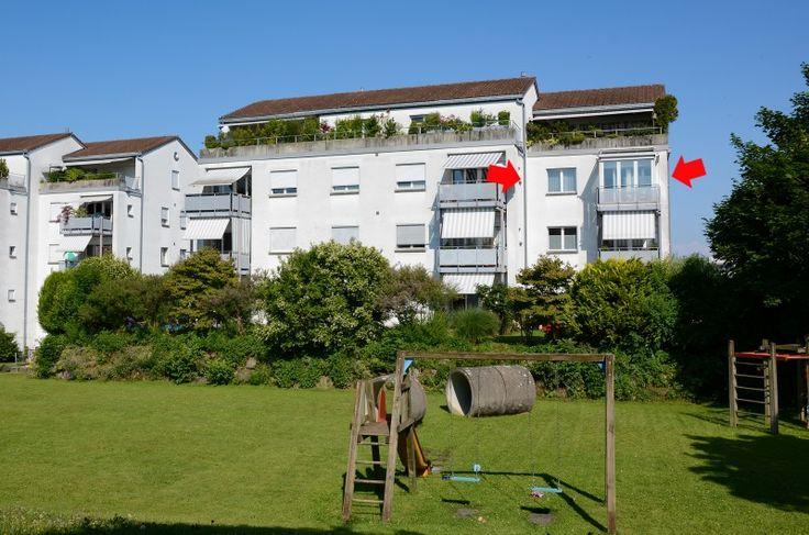 4½-Zi-Wohnung Nähe See mit verglastem Balkon