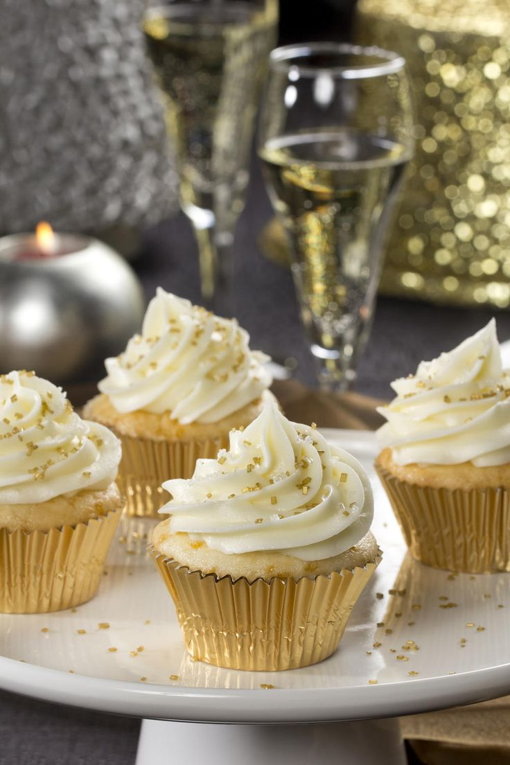 Champagne Cupcakes | MrFood.com