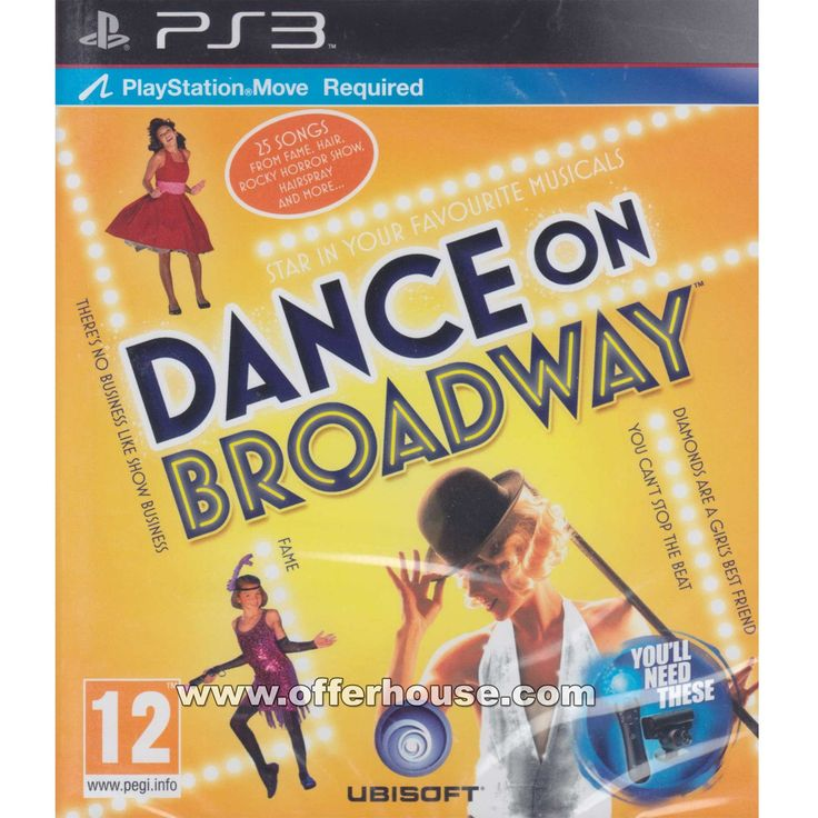 Dance on Broadway for Playstation 3. * From our expanded online assortment; not available in all Best Buy stores    * Dance, sing and act to 25 hit songs from Broadway musicals, including classics like Fame and current shows, such as Dreamgirls    * Become a Broadway legend in Star mode as you follow along with on-screen lyrics and perform with supporting characters    * Unlock new songs in the Critic's Challenge and try to save your local theater    * Relive the magic of Broadway...