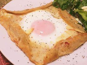 そば粉のクレープ(ガレット)で朝食を✨