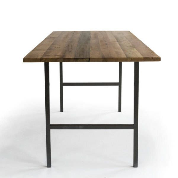 Reclaimed High Top Table, Standing Height Bistro Table/Restaurant Table/Pub  Table With