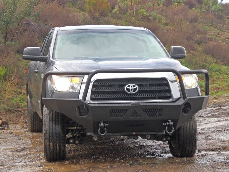 25 best images about Toyota Tundra with Aluminess bumpers