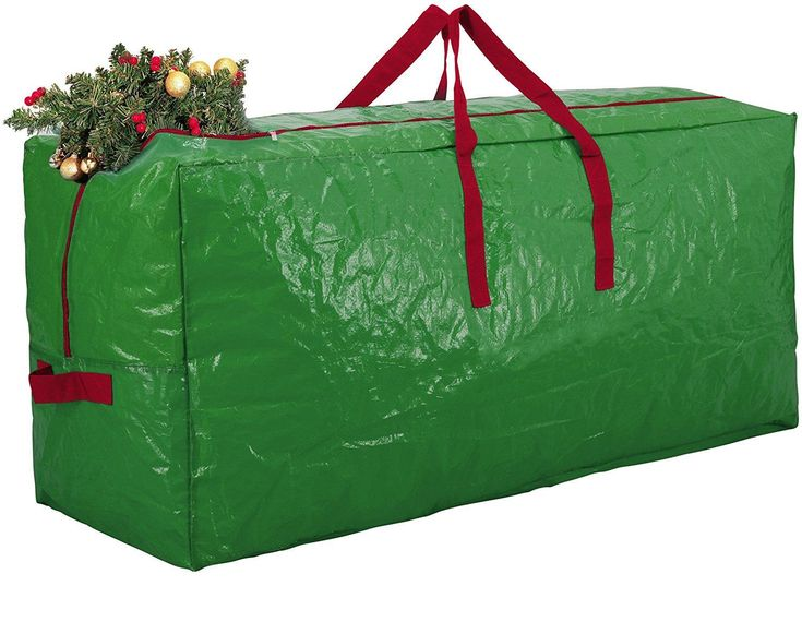 Zober Green Christmas Tree Holiday Extra Large Storage Bag 48X15X20 Zc-105