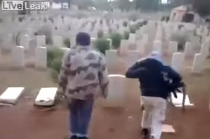 You Need To See The Despicable Thing These Muslim Thugs Did To The Graves of Fallen Soldiers