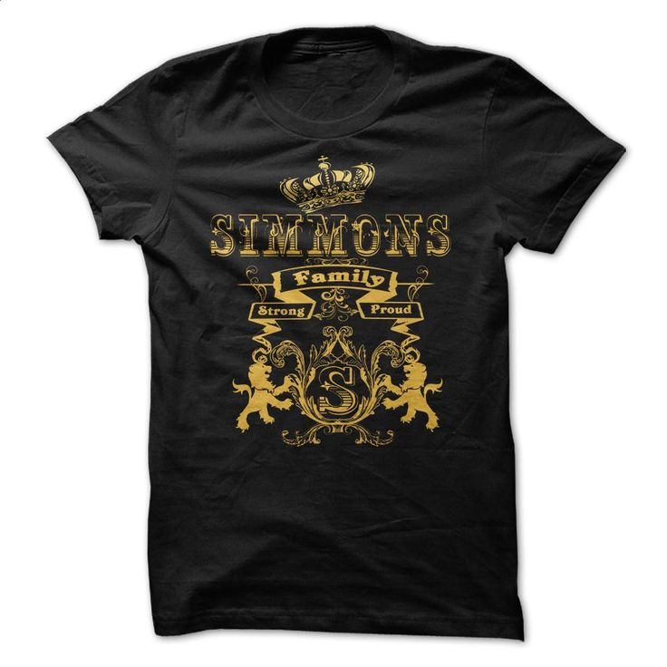 SIMMONS Family Strong Proud  T Shirts, Hoodies, Sweatshirts - #college sweatshirts #t shirt websites. SIMILAR ITEMS => https://www.sunfrog.com/Names/SIMMONS-Family-Strong-Proud-.html?id=60505