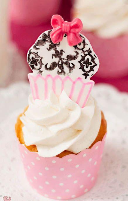 Baby Shower Homemade Twinkie Cupcakes