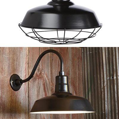 NPower Multi Mount Warehouse Barn Light U2014 12in. Dia., Black, 100 Watts,  Model# 23201096 B. Barn LightingExterior ...