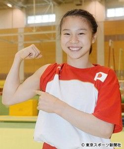 体操女子日本代表、杉原愛子選手は、体操女子出場選手の中で最年少の16歳。リオデジャネイロオリンピック・リオ五輪2016