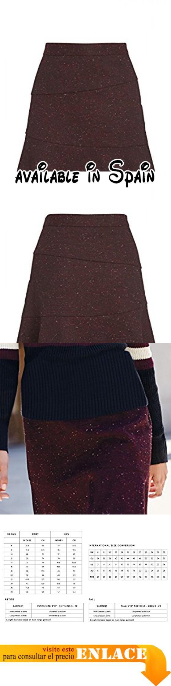 B076X7QW4B : next Mujer Falda Con Bajo De Vuelo Baya EU 36 (UK 8). next es el principal minorista de ropa Británica con más de 700 tiendas por todo el mundo. next ofrece un gran estilo calidad y relación calidad-precio con un toque de moda contemporáneo.. Regular