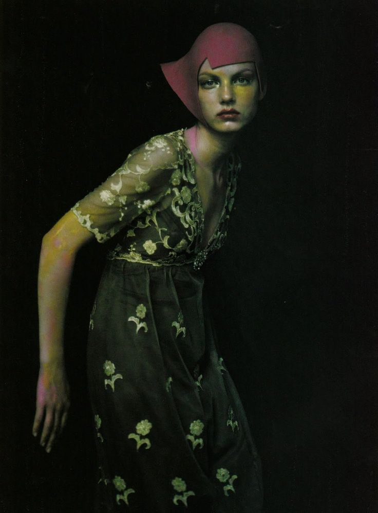 Angela Lindvall by Paolo Roversi for Vogue italia September 1999.