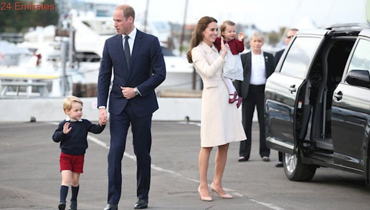 Prince William tells midwife he'll see her 'soon'