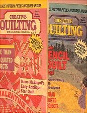 You get both quilting books.  Sold in BOOKS on website http://barbspencerdolls.com