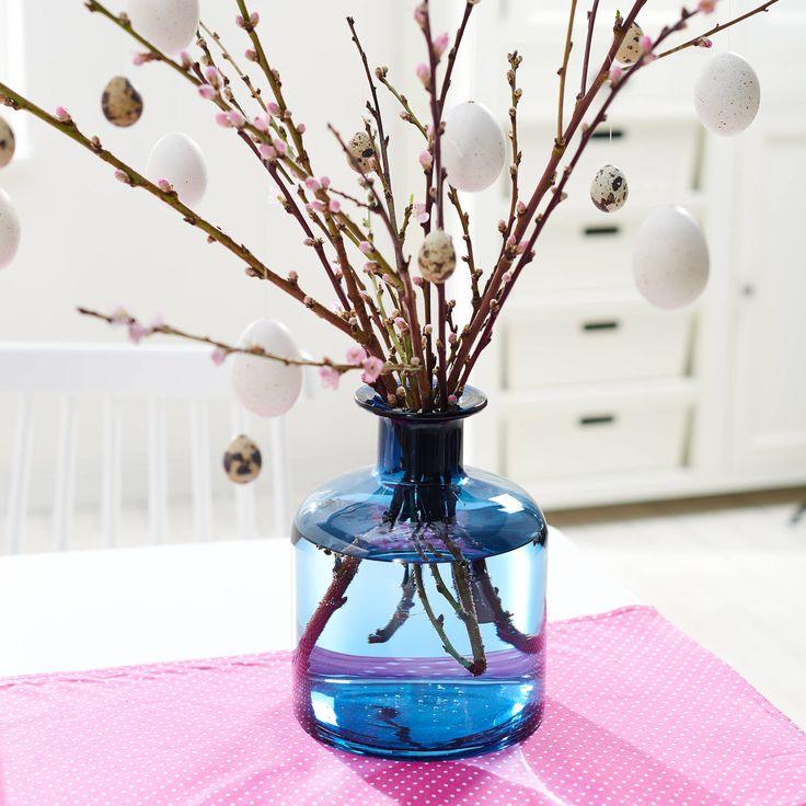 PASTELLO váza kék 23cm
