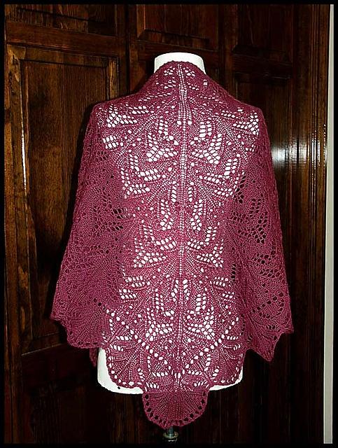 Crochet Patterns Heavy Weight Yarn : ... weight yarn (pattern by Kitman Figueroa) My Knit & Crocheted Shawls