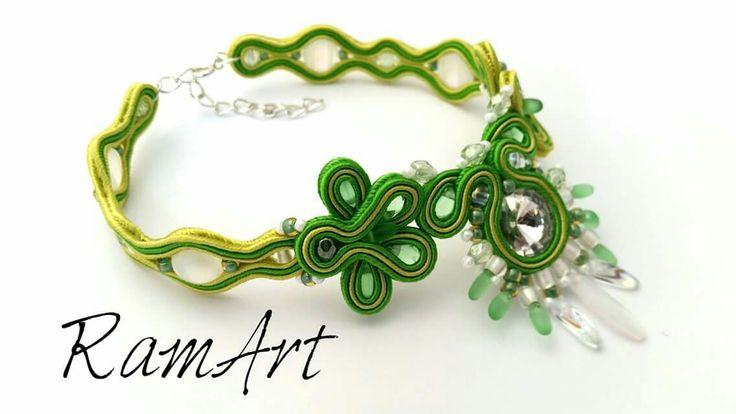Bransoletka sutasz na kostkę :-D Powiew lata ;-)  #ramart #bransoletka #bracelet #handmade #forsale #sutasz #soutache #niezchinzpasji #rękodzieło