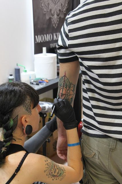 V.R.Creations: Palermo Tattoo Convention 2016