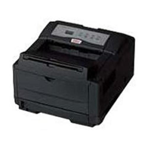 A Oki B4600 LED Printer - Monochrome - 600 x 2400 dpi Print - Plain Paper Print - Desktop - 27 ppm Mono Print - A4, A5, A6, Letter, Legal, Executive, B5, C5 Envelope, DL Envelope, Com 9 Envelope, C