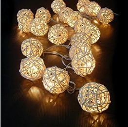 Gibts HIER:  http://amzn.to/2gXQQ8g 20 LED Rattan Lichterkette Ball Fairy Light String Weihnachtsdeko/Hochzeiten/Geburtstag/Party (Warmweiss) [Energieklasse n/a]