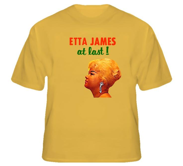 Etta James Blues Music T Shirt