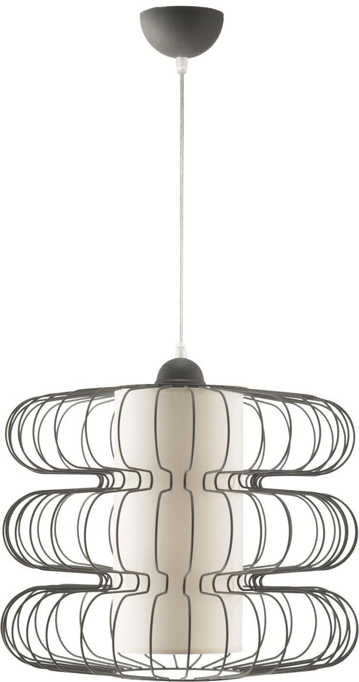 Lampa wisząca BRAJAN 1 z abażurem w stylu industrialnym dostępna na naszej stronie www.przystojnelampy.pl   #lampa #wisząca #lamp #lamps #lampy #oświetlenie #styl #industrialny #industrial