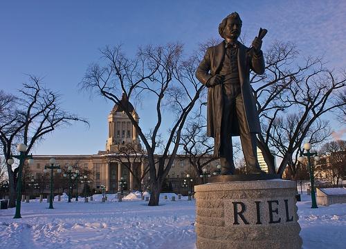 Louis Riel statue, Winnipeg