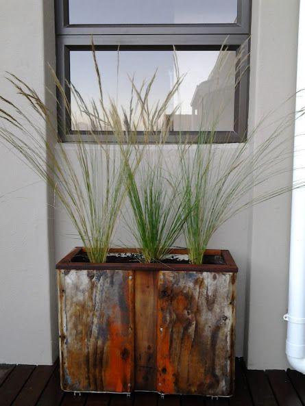 Driftwood Planter - Grasses Element Landscapes